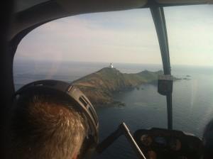 Hélicoptère Corse