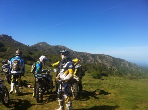 Randonnée Enduro en Corse